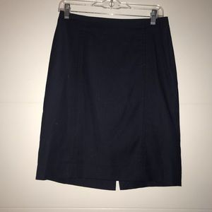 Limited Collection Navy Suit Skirt Size 6